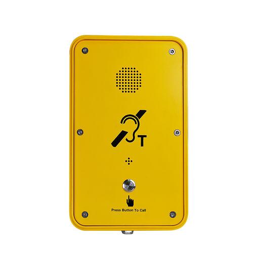 Vandal-proof telephone / weatherproof / analog / for railway applications JR104-SC-Y J&R Technology Ltd