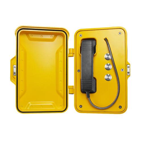 Vandal-proof telephone / weatherproof / IP67 / standard JR101-3B-Y-SIP J&R Technology Ltd
