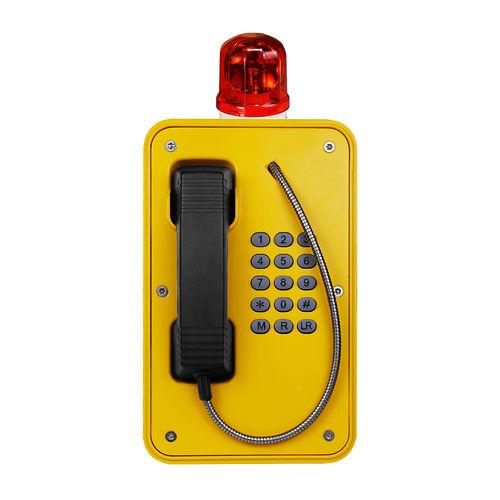 Weatherproof telephone / IP67 / VoIP / for harsh environment JR103-FK-Y-L-SIP J&R Technology Ltd