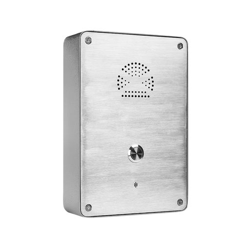 Vandal-proof telephone / IP65 / IP54 / wall-mounted JR301-SC-OW J&R Technology Ltd