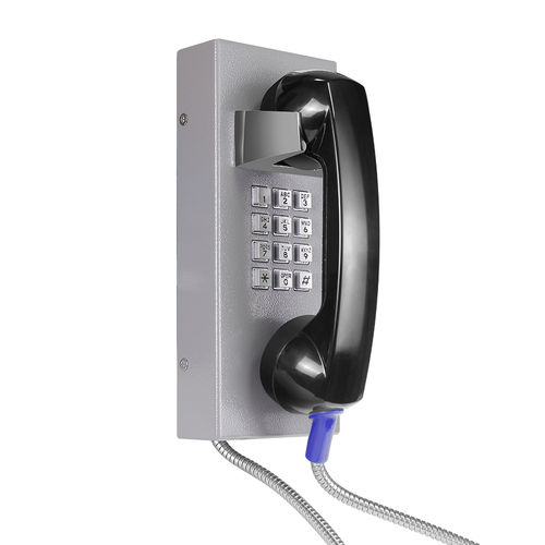 Vandal-proof telephone / IP54 / weather-resistant / analog JR202-FK-VoIP J&R Technology Ltd