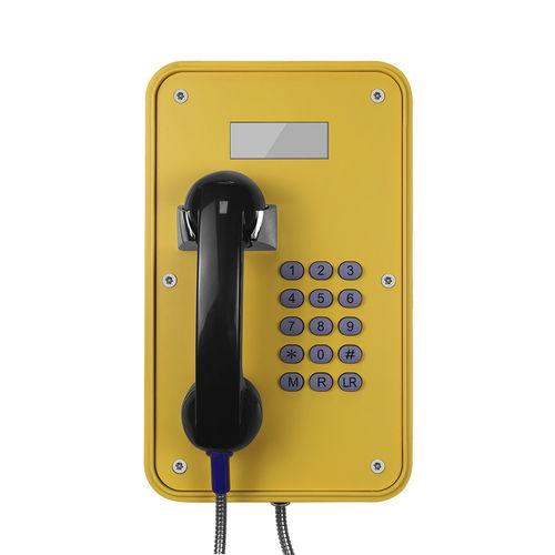 analog telephone / VoIP / IP66 / IK10