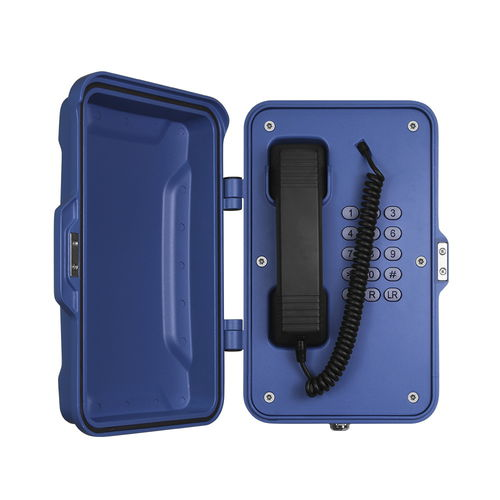 SIP telephone / IP66 / for railway applications / for tunnels JR101-FK J&R Technology Ltd
