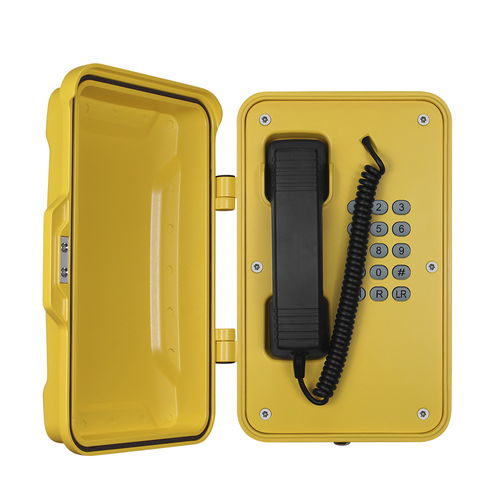 Analog telephone / IP67 / for railway applications / for tunnels JR101-FK J&R Technology Ltd