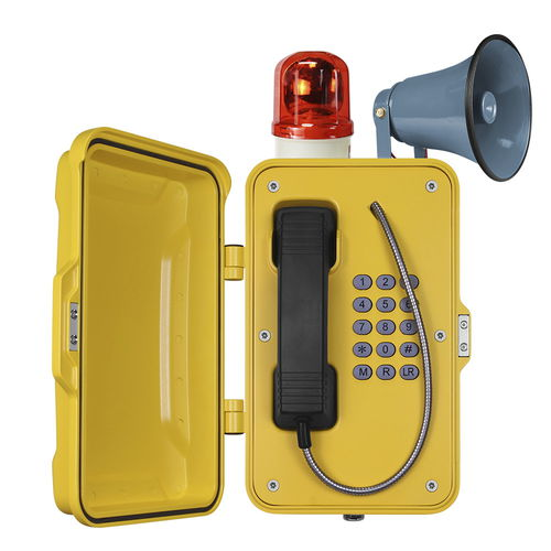 analog telephone / IP66 / IP67 / for railway applications