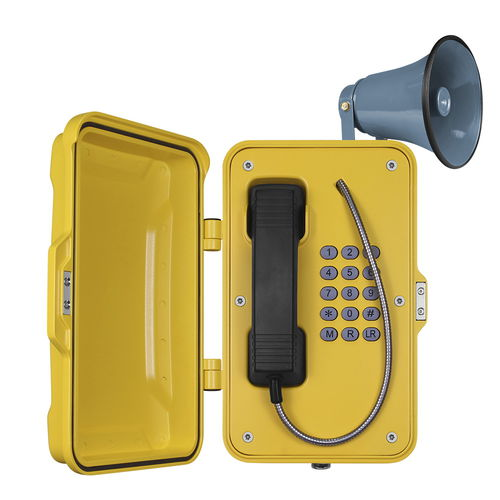 analog telephone / IP66 / IP65 / for railway applications
