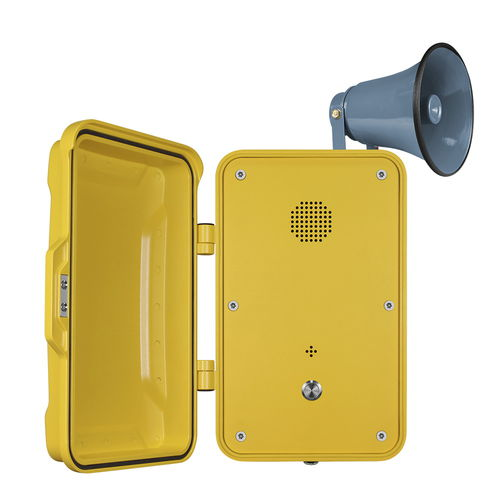 analog telephone / VoIP / IP67 / for railway applications