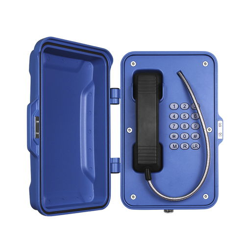 SIP telephone / IP67 / for railway applications / for tunnels