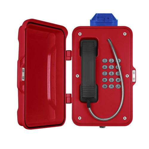 VoIP telephone / IP66 / for railway applications / for tunnels JR101-FK-L J&R Technology Ltd