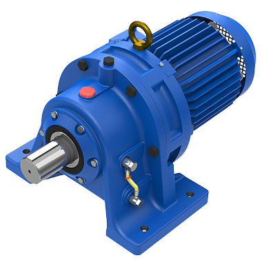 cycloidal gear reducer / coaxial / high-performance / low-noise
