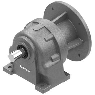 single-phase gearmotor / orthogonal / helical / foot-mounted