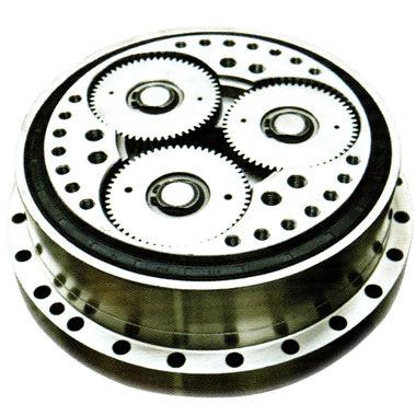 cycloidal gear reducer / coaxial / precision / low-backlash