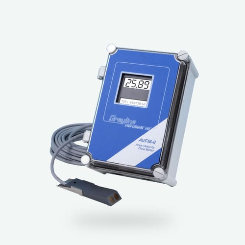 liquid flow meter / portable / digital / for partially-filled pipes