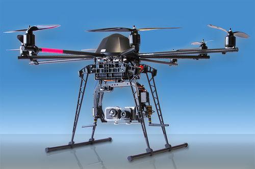 hexarotor UAV / for industrial applications / observation / carbon fiber