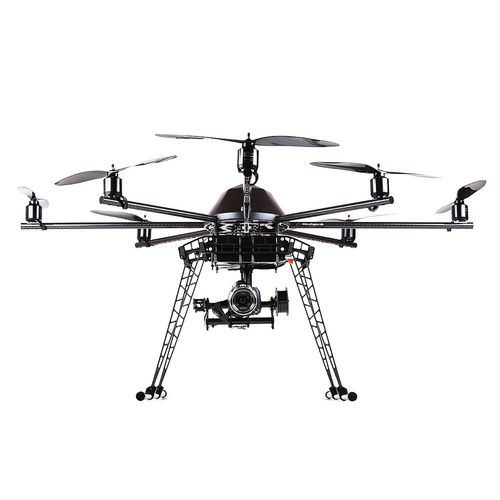 octorotor UAV / aerial photography / for industrial applications / lightweight