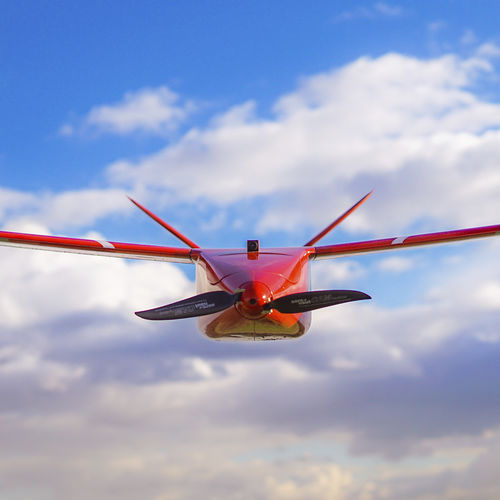 fixed-wing UAV / aerial photography / inspection / civilian