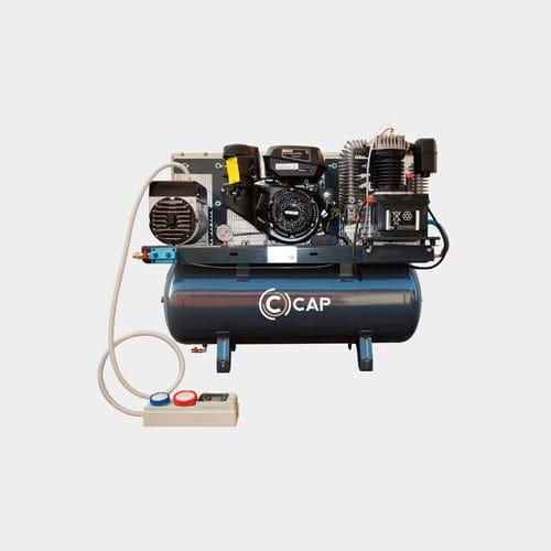 air compressor / stationary / diesel-powered / gasoline engine