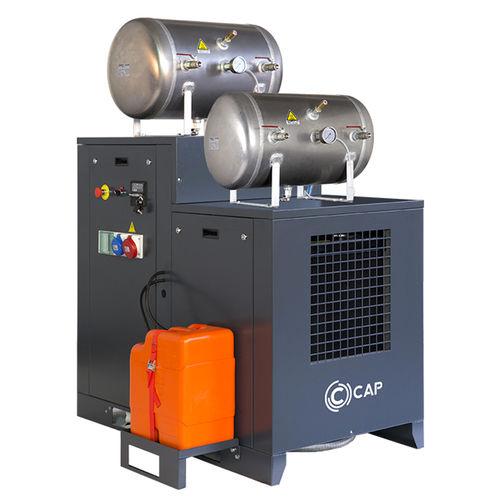 air compressor / stationary / diesel engine / lubricated