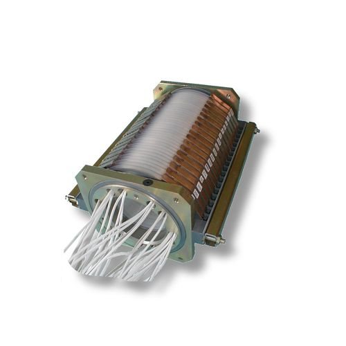 electric slip ring / hollow-shaft / standard / rugged