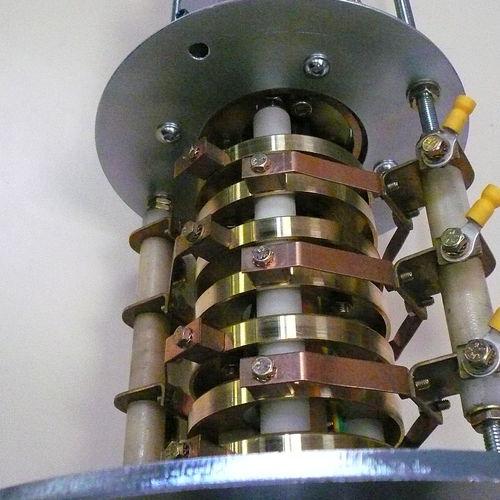 electric slip ring / hollow-shaft / 2-part / metal