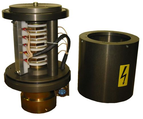 electric slip ring / aluminum / IP54