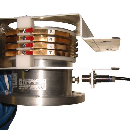 electric slip ring / hollow-shaft / multi-channel
