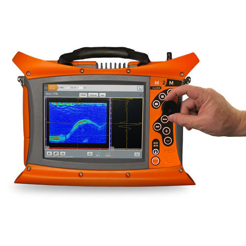 phased array flaw detector / 3D imaging / multichannel / portable