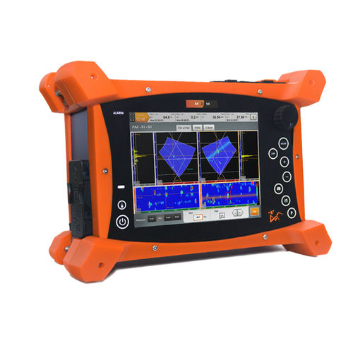phased array flaw detector / time-of-flight / portable / for NDT