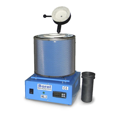 melting furnace / tubular / electric / laboratory