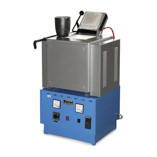 Melting furnace / chamber / electric / for non-ferrous metals RH 1350 SOLO Swiss & BOREL Swiss