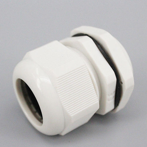 PA cable gland / nylon / waterproof / threaded