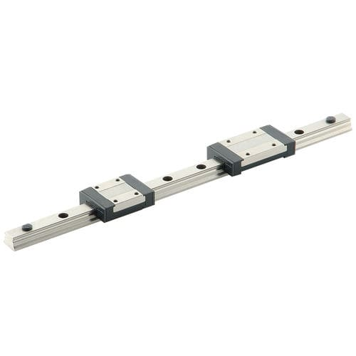 ball linear guide / compact / miniature / stainless steel
