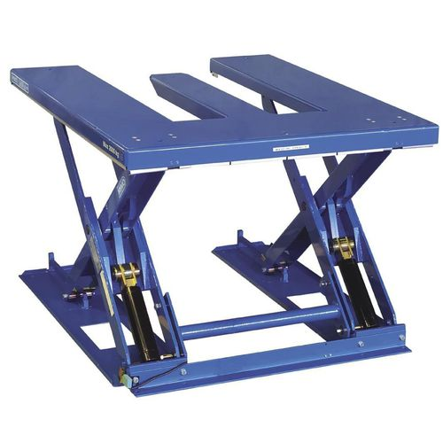 Scissor lift table / hydraulic / mobile / with ramp ARMAULIFT  ARMAURIC-LUX-SA