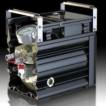 electric hydraulic pump / piston / compact / rugged