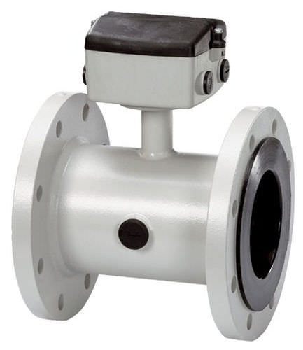 electromagnetic flow meter / for water / for wastewater / in-line