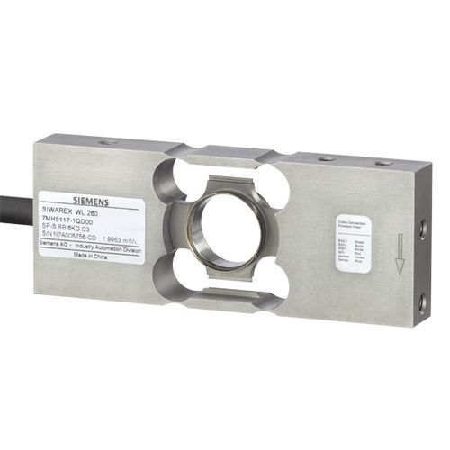single-point load cell / beam type / stainless steel / hermetic
