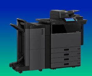 multi-function printer / floor-standing / color / with touchscreen