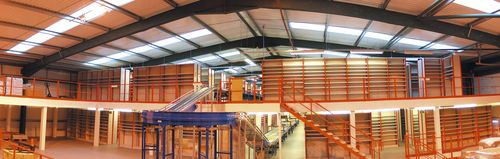 Industrial mezzanine Whittan Storage Systems