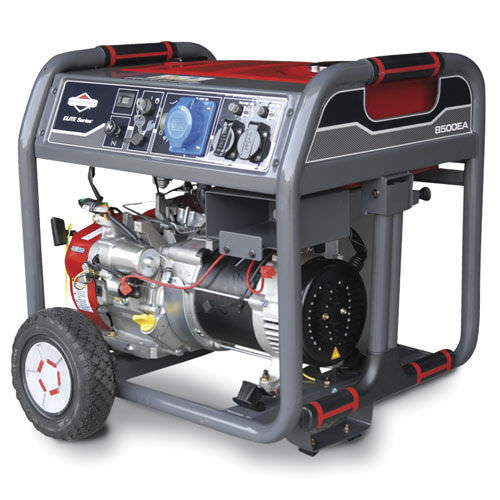 Single-phase generator set / gasoline engine / mobile 6.8 kW | 8500EA BRIGGS and STRATTON