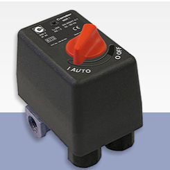 water pressure switch / differential / for pumps / for compressors