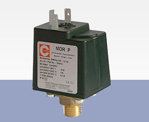 liquid pressure switch / for air / diaphragm / compact