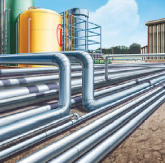 gas pipe / steel / seamless