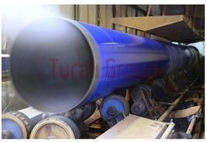 steel pipe / welded / spiral