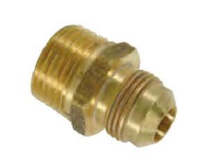 male adapter / bronze