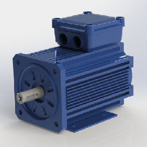 AC motor / asynchronous / traction / high-efficiency
