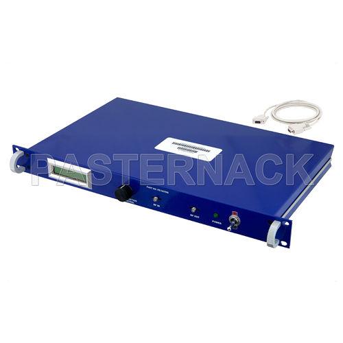 RF amplifier / variable gain / rack-mount