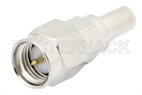 Electric adapter / for coaxial cables 1.0/2.3 series Pasternack Enterprises, Inc.