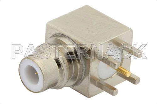 radio-frequency connector / coaxial / jack / PCB