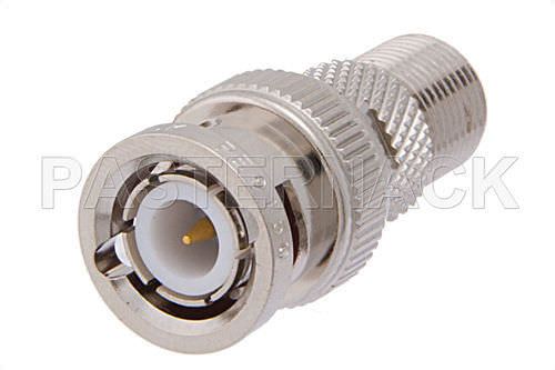 Communication adapter / for coaxial cables / threaded F series  Pasternack Enterprises, Inc.