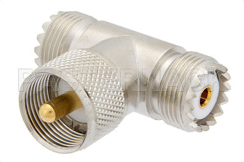 Communication adapter / for coaxial cables UHF series  Pasternack Enterprises, Inc.
